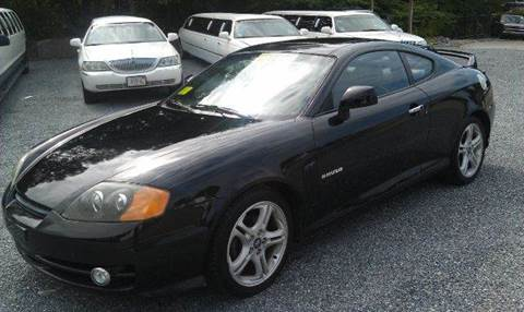 2003 Hyundai Tiburon for sale at Ultra Auto Center in North Attleboro MA