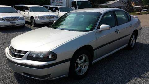 2003 Chevrolet Impala for sale at Ultra Auto Center in North Attleboro MA