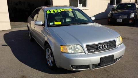 2002 Audi A6 for sale at Ultra Auto Center in North Attleboro MA