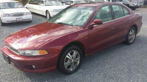 2001 Mitsubishi Galant for sale at Ultra Auto Center in North Attleboro MA