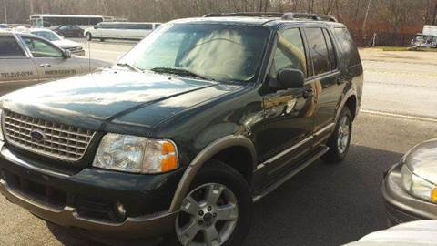 2003 Ford Explorer for sale at Ultra Auto Center in North Attleboro MA