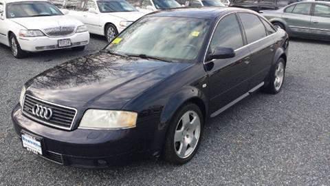 2001 Audi A6 for sale at Ultra Auto Center in North Attleboro MA