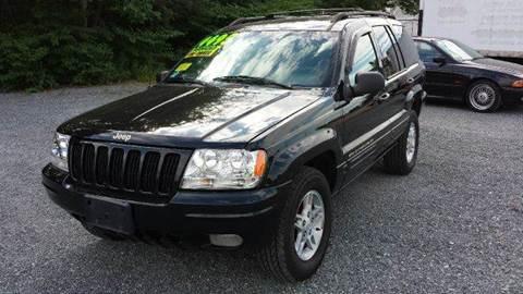 1999 Jeep Grand Cherokee for sale at Ultra Auto Center in North Attleboro MA