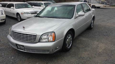 2003 Cadillac DeVille for sale at Ultra Auto Center in North Attleboro MA