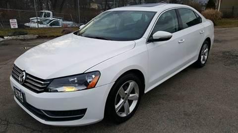 2012 Volkswagen Passat for sale at Ultra Auto Center in North Attleboro MA