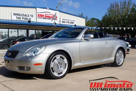 2002 Lexus SC 430 for sale in Saint Augustine, FL