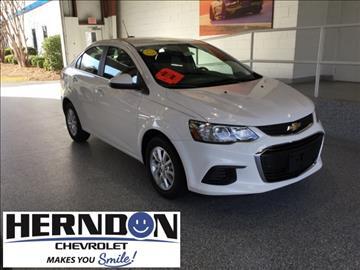 2017 Chevrolet Sonic for sale in Lexington, SC