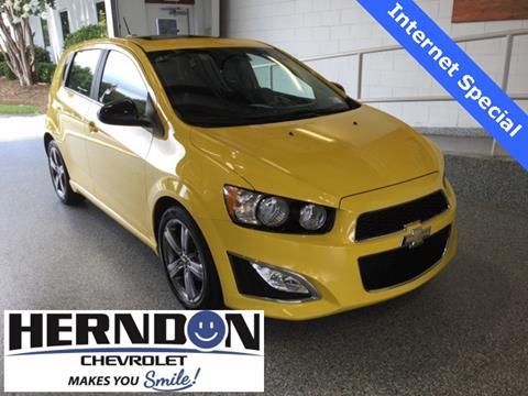 2016 Chevrolet Sonic for sale in Lexington, SC