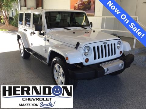 2012 Jeep Wrangler Unlimited for sale in Lexington, SC