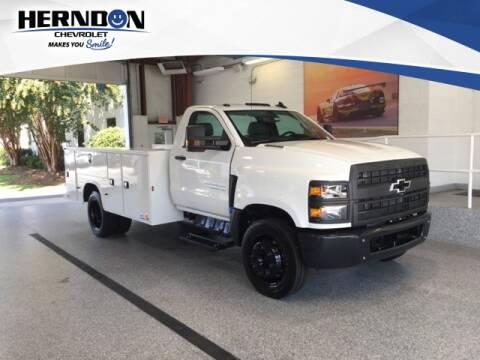2019 Chevrolet Silverado 4500 Medium Duty for sale at Herndon Chevrolet in Lexington SC