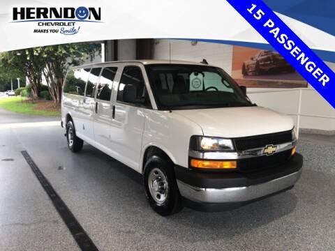 2018 Chevrolet Express Passenger for sale at Herndon Chevrolet in Lexington SC