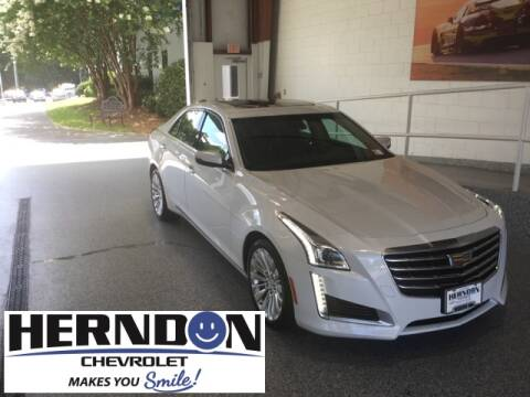 2017 Cadillac CTS for sale at Herndon Chevrolet in Lexington SC