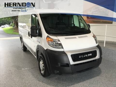 2019 RAM ProMaster Cargo for sale at Herndon Chevrolet in Lexington SC