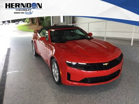 2019 Chevrolet Camaro for sale at Herndon Chevrolet in Lexington SC