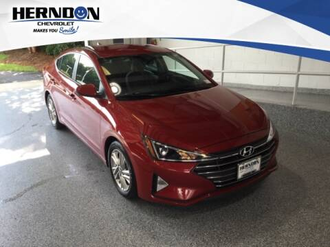 2019 Hyundai Elantra for sale at Herndon Chevrolet in Lexington SC