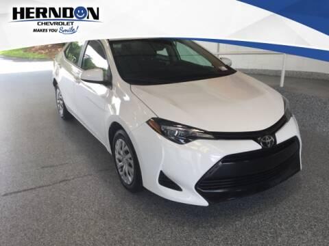 2019 Toyota Corolla for sale at Herndon Chevrolet in Lexington SC