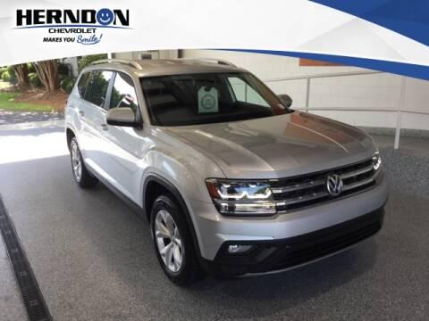 2018 Volkswagen Atlas for sale at Herndon Chevrolet in Lexington SC