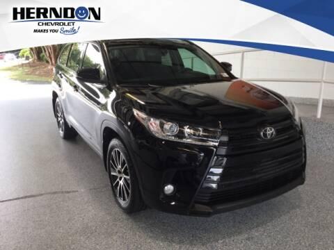 2017 Toyota Highlander for sale at Herndon Chevrolet in Lexington SC