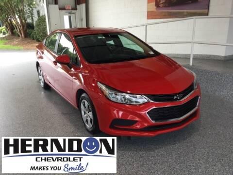 2018 Chevrolet Cruze for sale at Herndon Chevrolet in Lexington SC