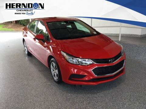 2018 Chevrolet Cruze for sale at Herndon Chevrolet in Lexington SC