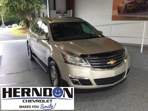 2016 Chevrolet Traverse for sale at Herndon Chevrolet in Lexington SC