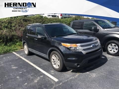 2012 Ford Explorer for sale at Herndon Chevrolet in Lexington SC