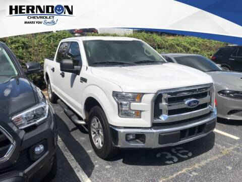 2017 Ford F-150 for sale at Herndon Chevrolet in Lexington SC