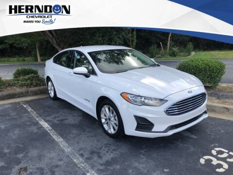 2019 Ford Fusion Hybrid for sale at Herndon Chevrolet in Lexington SC