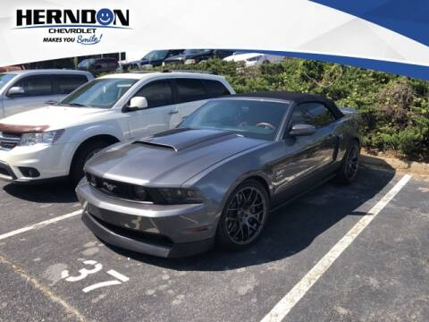 2011 Ford Mustang for sale at Herndon Chevrolet in Lexington SC