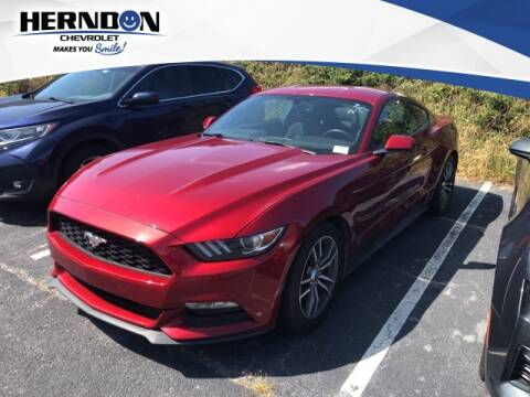 2016 Ford Mustang for sale at Herndon Chevrolet in Lexington SC