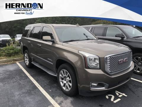 2016 GMC Yukon for sale at Herndon Chevrolet in Lexington SC