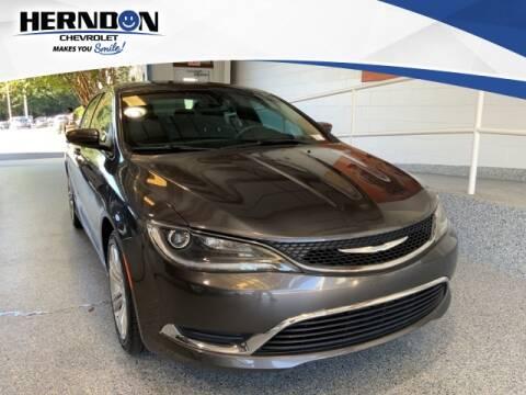 2015 Chrysler 200 for sale at Herndon Chevrolet in Lexington SC