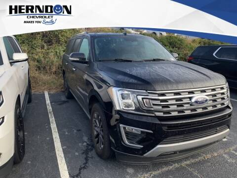 2019 Ford Expedition MAX for sale at Herndon Chevrolet in Lexington SC