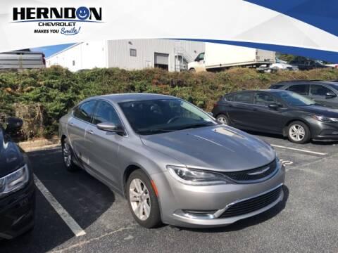 2016 Chrysler 200 for sale at Herndon Chevrolet in Lexington SC