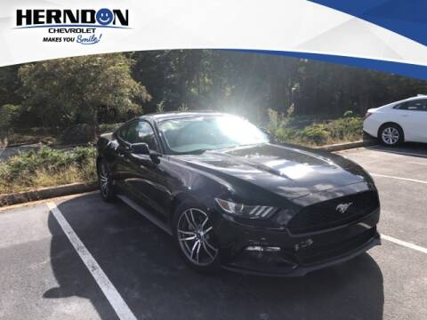 2015 Ford Mustang for sale at Herndon Chevrolet in Lexington SC