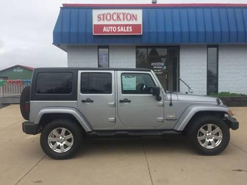 2013 Jeep Wrangler Unlimited for sale in Stockton, IL