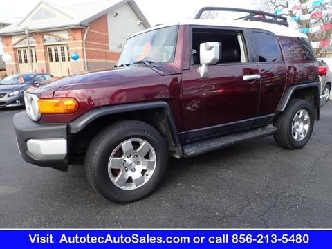 2007 toyota fj cruiser for sale in vineland nj for Joshua motors vineland nj