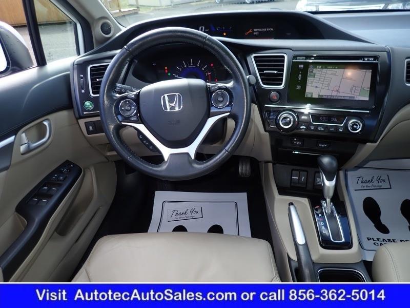 2014 Honda Civic Ex L 4dr Sedan W Navi In Vineland Nj Autotec Auto