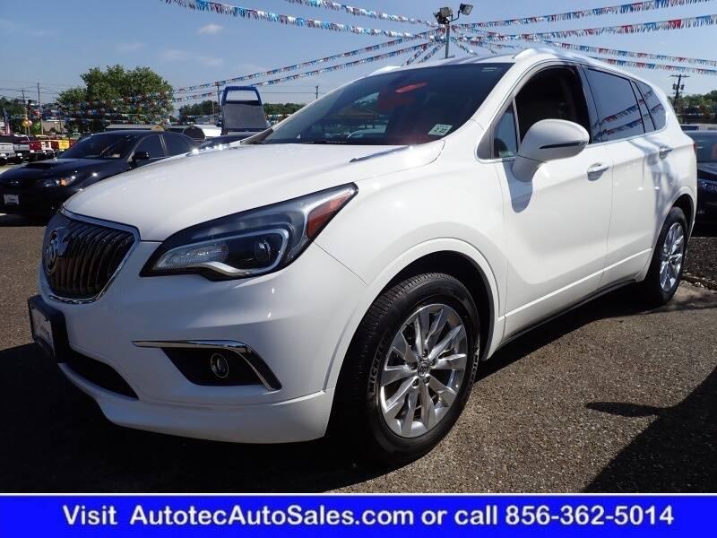 2017 Buick Envision for sale at Autotec Auto Sales in Vineland NJ