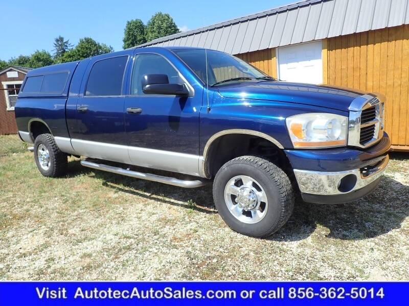 2006 Dodge Ram Pickup 1500 for sale at Autotec Auto Sales in Vineland NJ