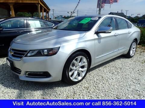 2019 Chevrolet Impala for sale at Autotec Auto Sales in Vineland NJ