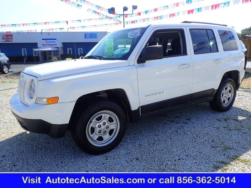 2017 Jeep Patriot for sale at Autotec Auto Sales in Vineland NJ