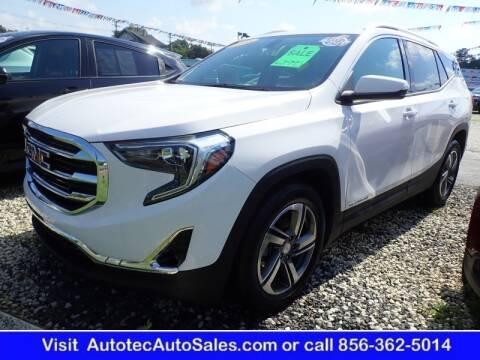 2019 GMC Terrain for sale at Autotec Auto Sales in Vineland NJ