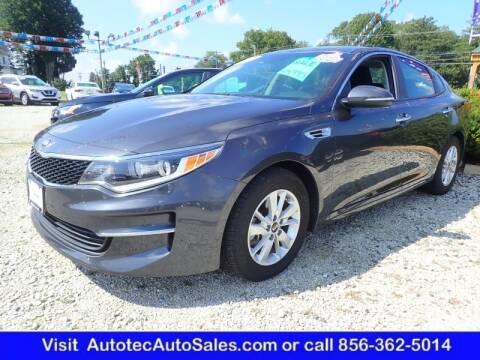 2018 Kia Optima for sale at Autotec Auto Sales in Vineland NJ