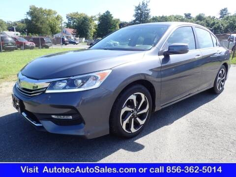 2017 Honda Accord for sale at Autotec Auto Sales in Vineland NJ