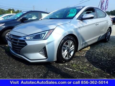 2019 Hyundai Elantra for sale at Autotec Auto Sales in Vineland NJ