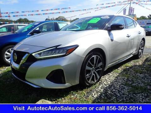 2019 Nissan Maxima for sale at Autotec Auto Sales in Vineland NJ