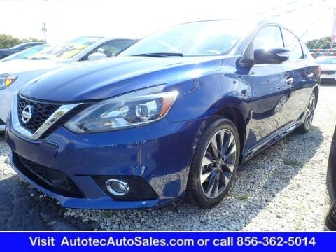 2019 Nissan Sentra for sale at Autotec Auto Sales in Vineland NJ