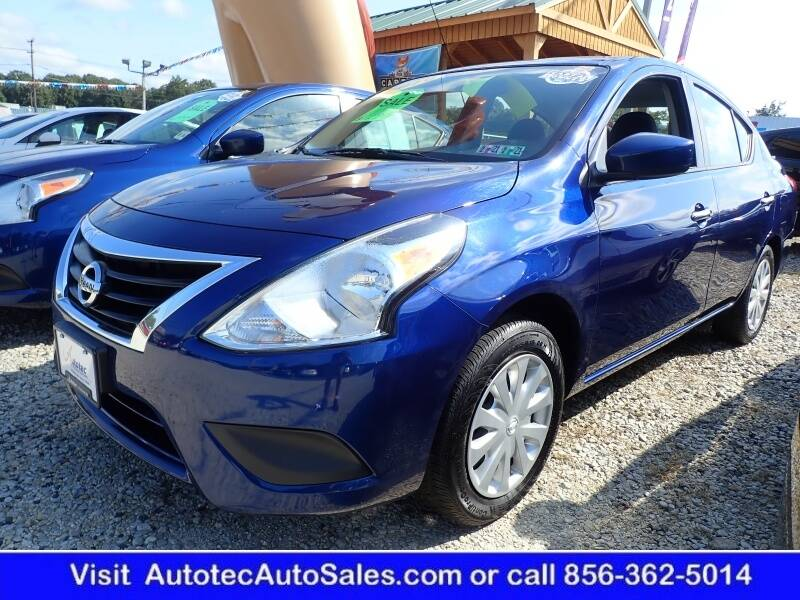 2019 Nissan Versa for sale at Autotec Auto Sales in Vineland NJ