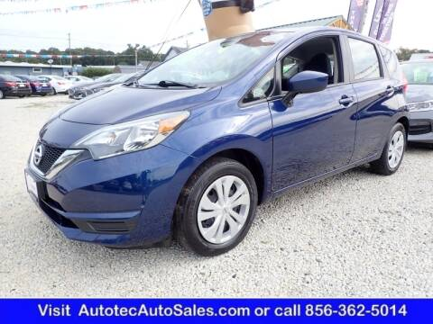 2019 Nissan Versa Note for sale at Autotec Auto Sales in Vineland NJ